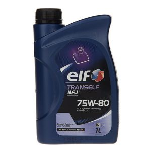 Elf-Tranself-NFJ-75W-80-1L-Car-Gearbox-Oil