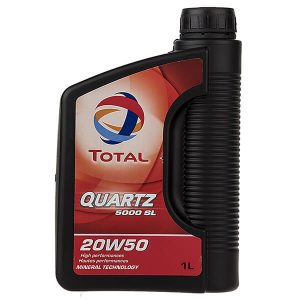 Total-Quartz-5000-SL-1L-20W-50-Car-Engine-Oil