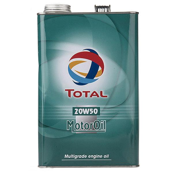 روغن موتور خودرو توتال مدل Quartz Motor Oil چهار لیتری 20W-50