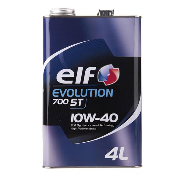 روغن موتور خودرو الف مدل Evolution 700 ST چهار لیتری 10W-40