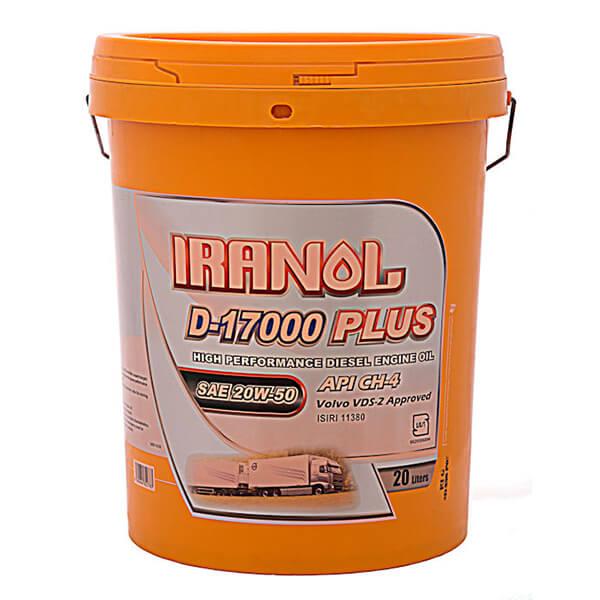 ایرانول D17000-15W40(بیست لیتری)