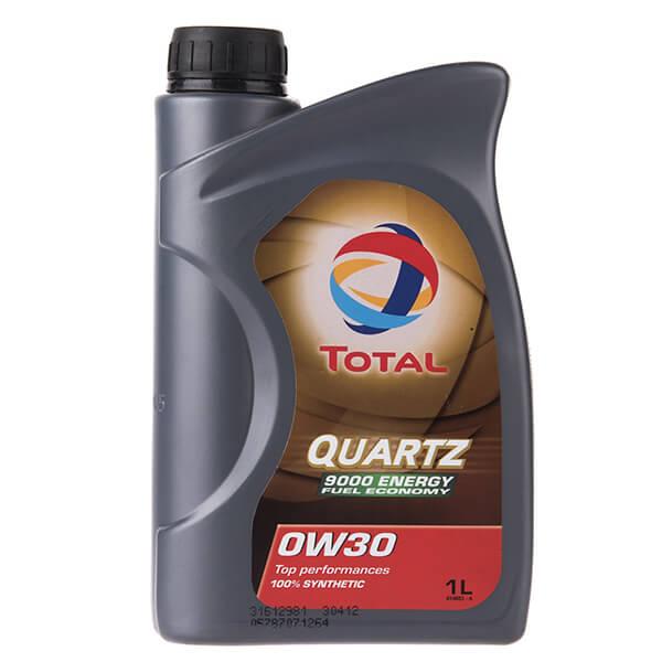 روغن موتور خودرو توتال مدل Quartz 9000 Energy یک لیتری 0W-30