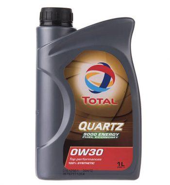 روغن موتور خودرو توتال مدل Quartz 9000 Energy پنج لیتری 0W-30