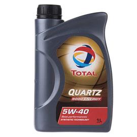 روغن موتور خودرو توتال مدل Quartz 9000 Energy یک لیتری ۵W-40